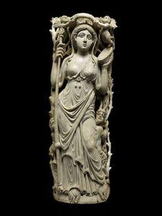Ariane, Ménade, Satyre et Amours