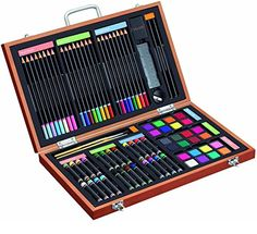 Gallery Studio 82 Piece Deluxe Art Set in Wooden Case Gallery Studio http://www.amazon.com/dp/B008AH6PPE/ref=cm_sw_r_pi_dp_IwIOwb0SF1ZXA