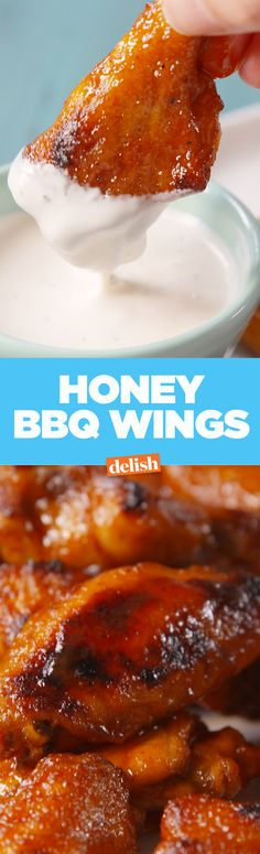 These honey BBQ wings taste just like the ones from Buffalo Wild Wings. Get the recipe on Delish.com.