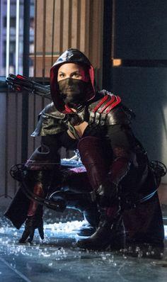 "Nyssa al Ghul (Katrina Law, ""Arrow""). Arrow Tv Series, Cw Series, Arrow Cw, Team Arrow, Nyssa Al Ghul, Nyssa Raatko, Katrina Law, League Of Assassins, Talia Al Ghul"