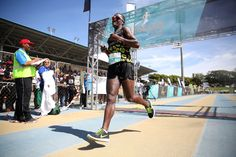 OCTOBER 03, 2015 Bongmusa Mthembu (Faku Chiefs) took home the silver (68km) at the Legends Marathon on Saturday in East London Picture: MARK ANDREWS © DAILY DISPATCH PHOTO GALLERY: Early push in Legends Marathon brings gold for Makaza | DispatchLIVE