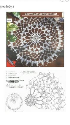 Doily with graph