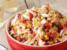 Make classic summer salads from Food Network chefs, like potato salad, pasta salad, coleslaw or macaroni salad, for all your summer cookouts.