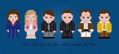 Blue Velvet Movie Characters  Digital PDF by AmazingCrossStitch MUST MAKE ASAP.  A house is not a home without David Lynch.