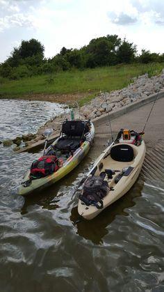 Kayak fishing Kayak Fishing Gear, Fly Fishing Knots, Bass Fishing Shirts, Fishing Uk, Fishing Shop, Kayaking Gear, Kayak Camping, Walleye Fishing, Canoe And Kayak