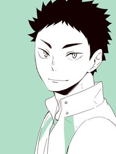 Iwaizumi Hajime , uniform, smile, http://www.pixiv.net/member_illust.php?mode=manga&illust_id=34619515
