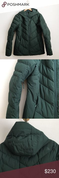 The North Face Corefire jacket Worn once! Will send with original tags. Size small. Matte earthy green color. Sold out color. This is a fantastic super warm lightweight jacket. The North Face Jackets & Coats Puffers