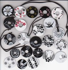 NorthShore Days.....: Polished Washer Jewelry