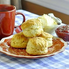 The Best Buttermilk Biscuits & Honey Butter - this combination is amazing at a great Sunday brunch!