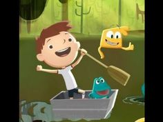 Justin Time Froggy Bog Animation Sprout PBS Kids Game Play Walkthrough
