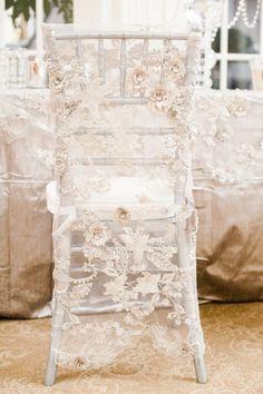 Gorgeous Lace chair sash