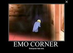 Emo corner: every one has one, funny, text, Suoh Tamaki; Ouran High School Host Club