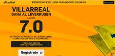 el forero jrvm y todos los bonos de deportes: betfair Villareal gana Leverkusen supercuota 7 Eur...