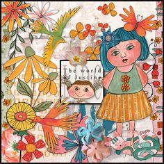 February - MADEMOISELLE collection - Freebie and Discount Code - Christine-Art.com Christine-Art.com