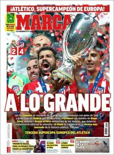 2018-08-16 Portada de Marca (España) Diego Costa, Lionel Messi, Wasting Time, Real Madrid, In The Heights, New Experience, Instagram Posts, Life, Fernando Torres