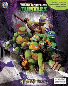 Teenage Mutant Ninja Turtles (My Busy Books Series)