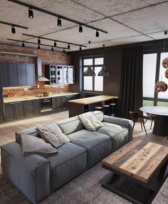 Most Popular Living Room Design Ideas for This Year! Part 52 Most Popular Living Room Design Ideas for This Year! Part living room design ideas; Apartment Layout, Apartment Interior, Interior Design Living Room, Living Room Designs, Apartment Hacks, Interior Livingroom, Loft Design By, House Design, Design Model