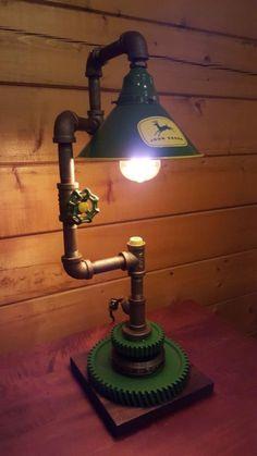 Custom John Deere тематическая лампа художественный промышленных John Deere  лампа