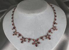 Rare Georgian  Garnet 18th Century Necklace