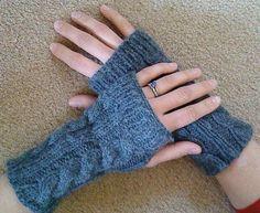 wrist warmers free knitting pattern