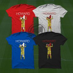 Tim Howard T-Shirt - USMNT Player #soccer #mls #football #futbol #premierleague #bpl #everton