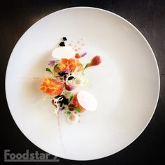Olive Oil Poached Salmon & Pickled Apple