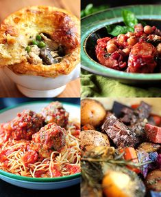 4 Special Week Night Dinner Ideas. Thinking that the beef short ribs and the spaghetti and meat balls may need a test run!