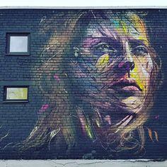 telliskivi loomelinnak mural - Google Search