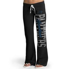 '47 Brand Carolina Panthers Womens Black Pep Rally Pants