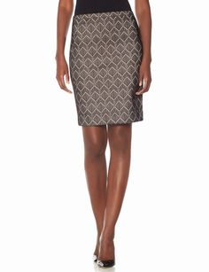 Patterned High Waist Pencil Skirt | Women's Skirts | THE LIMITED