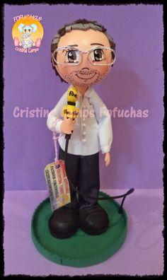 Cristina Camps Fofuchas: Fofucha reportero