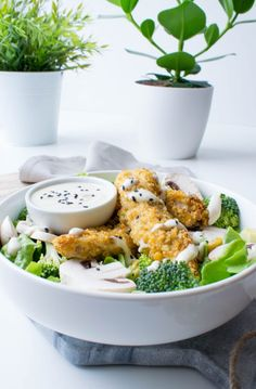 Sauce Salade Cesar, Home Food, Caesar Salad, Broccoli, Potato Salad, Healthy Recipes, Blog Healthy, Healthy Food, Lunch Box