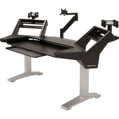 Argosy Halo-K-XL-B-S Halo-K Ultimate Studio Desk HALO-K-XL-B-S