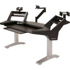 Argosy Halo-K-XL-B-S Halo-K Ultimate Studio Desk HALO-K-XL-B-S
