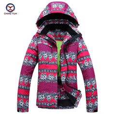 Click to Buy    2017 winter women Flower printed cotton coat windproof  waterproof.    0161610fd