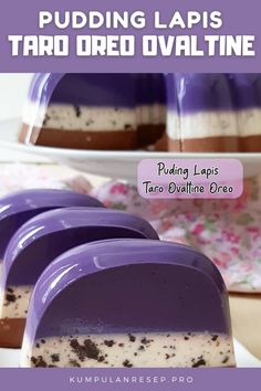 Oreo Pudding, Pudding Recipes, My Recipes, Cooking Recipes, Puding Cake, Ovaltine, Puddings, Jelly, Food And Drink