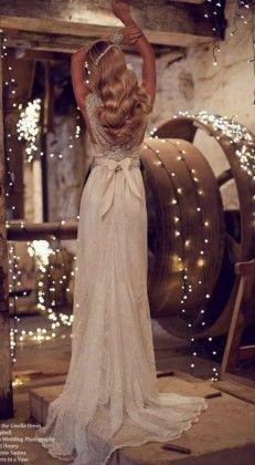 Anna Campbell beach wedding dresses