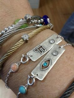 New protection jewelry with a Chai (Hebrew for Life) or an Evil eye
