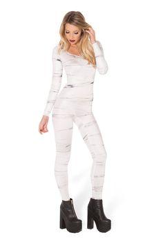 XXS SAMPLE  Mummy Returns Long Sleeve Catsuit
