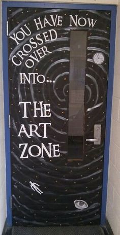 My art room door for the year!