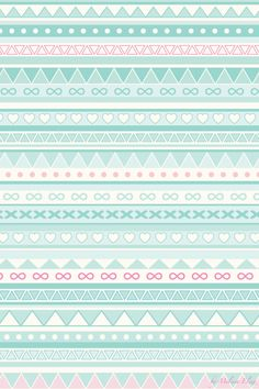Mint green tribal