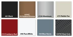Check out our specialty door hardware finishes, which come in powdered coat, galvanized and stainless steel, and are available in a variety of colors. Sliding Door Hardware, Sliding Doors, Shop Doors, Black Oil, Pure White, Oil Rubbed Bronze, Pure Products, Storefront Doors, Sliding Door
