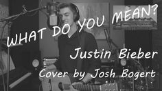 What Do You Mean? - Justin Bieber (Acoustic Cover with Looping Pedal by ...