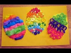 Easter Art, Craft Ideas And Projects To Choose From To Do With Kids ! - YouTube