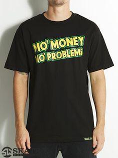 #Shake Junt Mo' Money #Tee in Black/Yellow $19.99