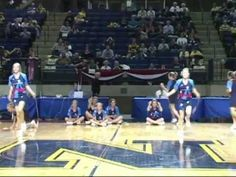 US Naval Academy Kings Firecracker Jump Rope half-time show.  These girls are amazing and good clean entertainment.