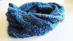 Multi Color Infinity Scarf $30.00 thecraftstar, infinity scarf, multicolor scarf, warm scarf, winter scarf, christmas gift idea