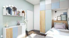 Pastelowa sypialnia dla dziewczynki - zdjęcie od MONOstudio - Pokój dziecka…
