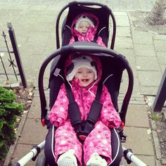 Thanks @dottygreyhound Zoom with two Risus Carseat Group 0+ #abcdesign #thinkbaby #zoommoments #risusmoments #travelsystem #carseat #safty #twins #tandem #laugh #smilie #children #kids #abcdesign_zoom #zoom #abcdesign_risus #risus