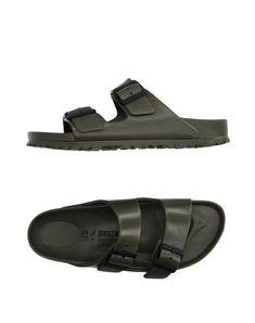 c6f90aa19af BIRKENSTOCK Women s Sandals Military green 10 US Birkenstock Plastic Sandals